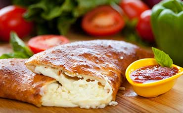 Cheese calzones